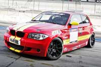 BMW 130i Race Car available for hire and rent on Ascari Race Resort and Circuit Portimao