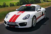 Porsche Cayman S available for hire and rent on Ascari Race Resort and Circuit Portimao
