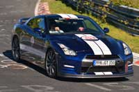 Nissan GT-R available for hire and rent on Ascari Race Resort and Circuit Portimao