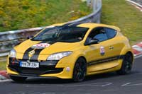 Renault Megane RS265 available for hire and rent on Ascari Race Resort and Circuit Portimao